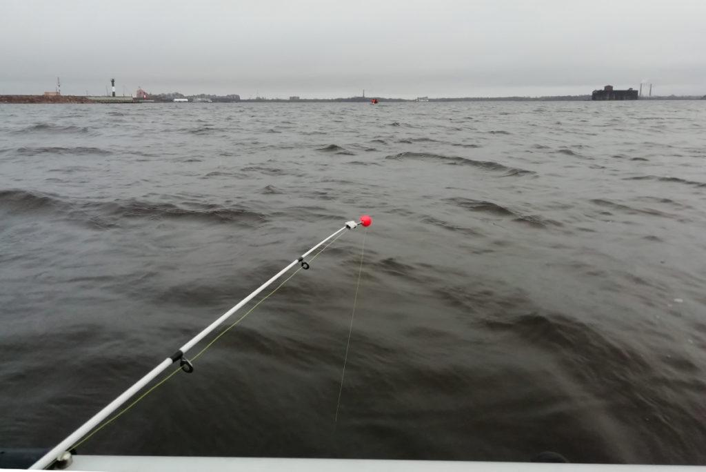 Бортовушка для ловли корюшки на финском заливе