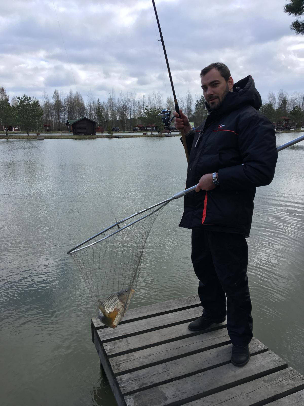 Рыбалка на платном водоеме