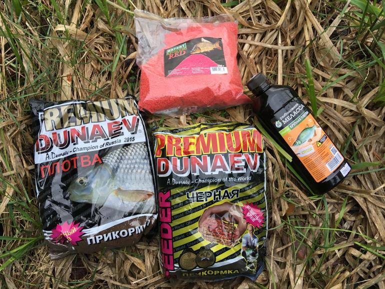 Прикормки которые можно использовать при ловле леща на фидер
