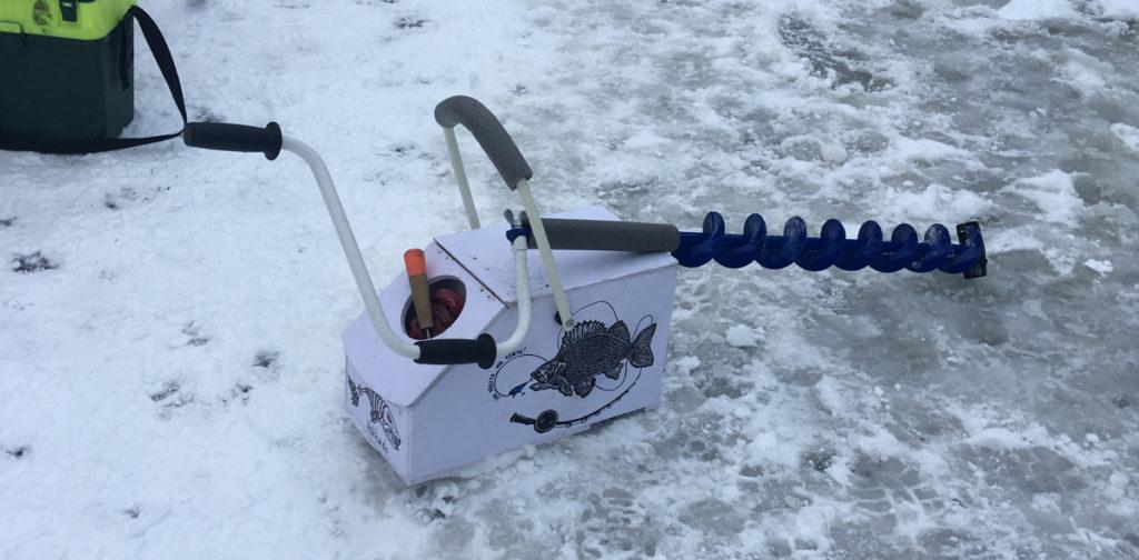 спортивный ящик для зимней рыбалки